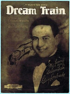 DREAM TRAIN by CHARLES NEWMAN & BILLY BASKETTE w/ GUY LOMBARDO (1928)