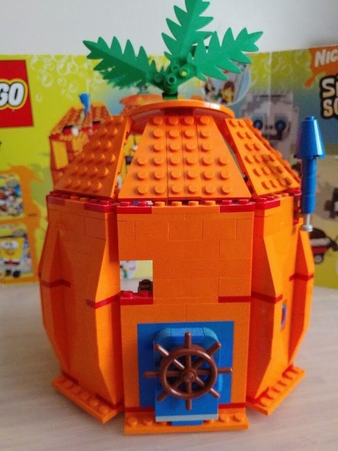 Lego Spongebob Adventures In Bikini Bottom Set 3827 2006 In