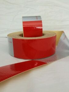 10 Foot Roll -DOT-C2 Reflective Conspicuity Tape Safety * FREE  FAST SHIPPING!!!