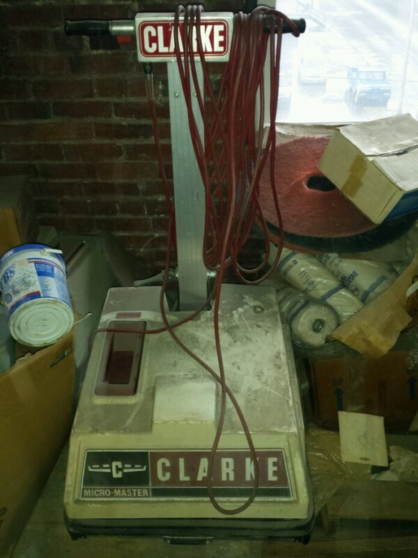 Clarke Micro master floor machine