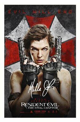 Milla Jovovich Poster Picture Photo Print A2 A3 A4 7X5 6X4