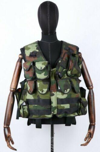 Bosnia Serb VRS Army m93 Pattern Wolves of Drina Unit Combat Vest