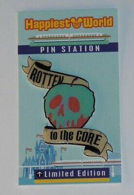 Disney Poison Apple Evil Queen Snow White Rotten To The Core custom fantasy pin