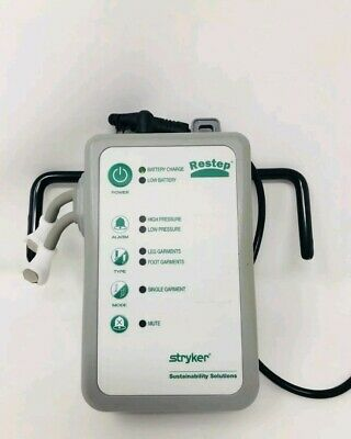 Stryker Restep Rsp101 Dvt Air Pump W Ac Adaptor And Battery Included
