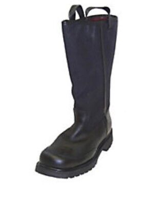 Pro Leather Fire Boots Model 4132 Nfpa 1971 2013 Edition Size 13.5 E