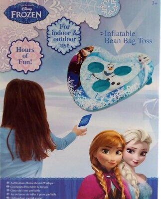 DISNEY FROZEN INFLATABLE BEAN BAG TOSS INDOOR / OUTDOOR FUN TARGET GAME **NEW** - Frozen Toys Target