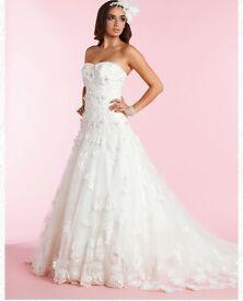 Size 10-12 Wedding Dress -Laura by Diane Harbridge