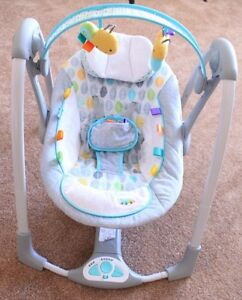 Taggies Baby Swing Kitchener / Waterloo Kitchener Area image 1