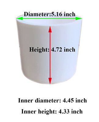 1000 ml Alumina Ceramic Lab Planetary Ball Mill Grinding Jar/Ball Mill Cup Bow, used for sale  Rancho Cucamonga