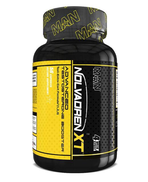 MAN Sports Nolvadren XT - Advanced Muscle Building Formula (56 Capsules)