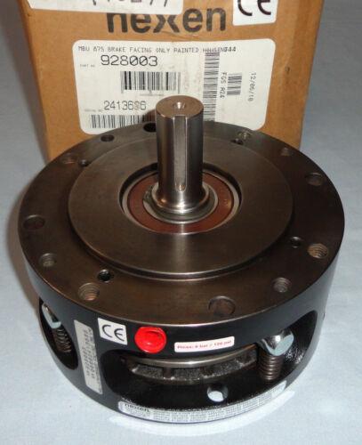 "Nexen 928003 Brake Facing Only MBU-875 Shaft 7/8"" Bore 7/8"" NEW"