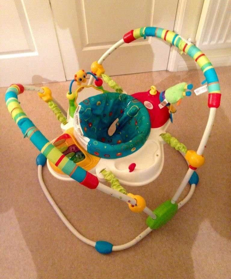 1359fa06dbe7 Bright starts cute critters jumperoo