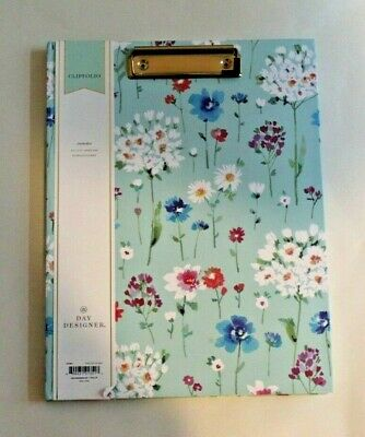 Clipfolio Hardcover With Notepad And Pocket By Day Designer