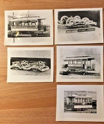 TROLLEY Car Vintage Photographs & Negatives J.G. Brill Co. San Diego Electric...