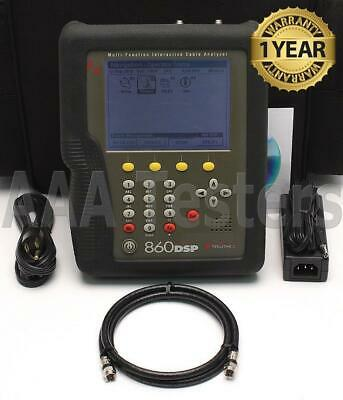 Trilithic 860 Dspi 1ghz Multi-function Cable Analyzer Catv Meter 860dsp
