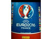 Swaps, panini Euro 2016 stickers