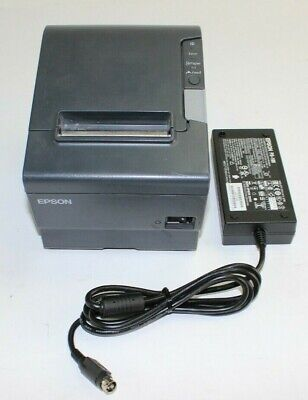 Epson Tm-t88v M244a Usb Interface Pos Thermal Receipt Printer With Power Supply