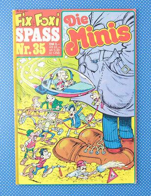 Die Minis | Gevacur AG | Band 35 | Rolf Kauka | Comic | (Spaß Die Band)