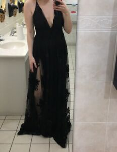 Long Black Envy Dress