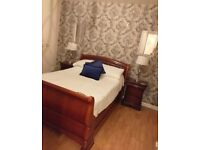 Double bed & matching drawers