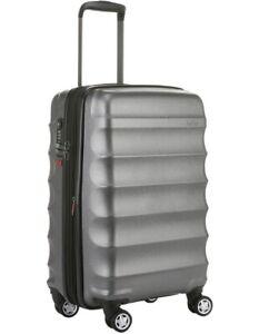 Luggage - Antler Juno Metallic 56cm Cabin Suitcase (New) RRP $259