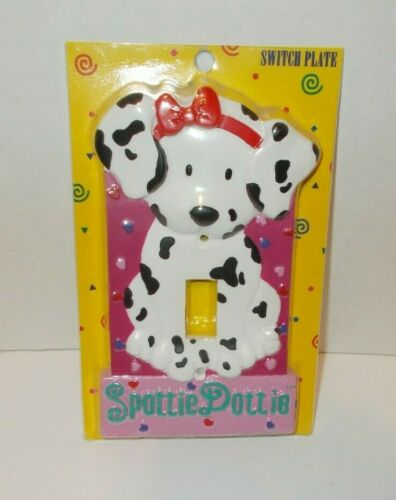 Vintage Sanrio Love Spottie Dottie Light Switch Plate Cover New In Package 1997