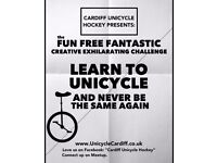 UNICYCLE CARDIFF Learn to Unicycle - Your moment has arrived!