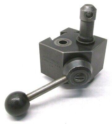 Hardinge L18 Quick-change Lathe Tool Post - For Hlv-h Lathes