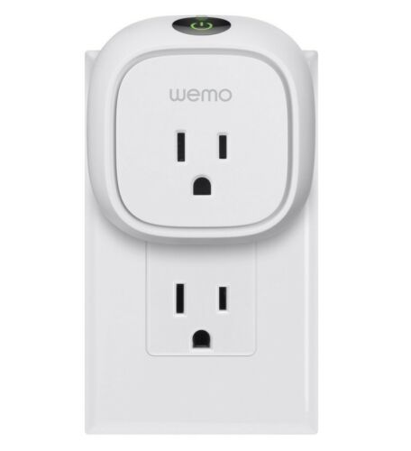 Belkin WeMo Insight Switch Wi-Fi Enabled Smart Plug (Android/iOS) - Brand NEW