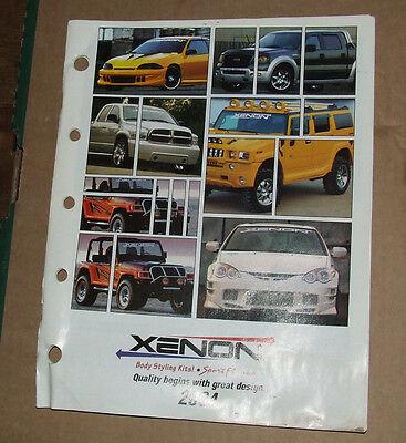 XENON Body Styling Kits Catalog USA 2004 Edition RARE