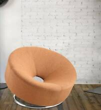 Modern Design Round Cashmere Lounge Chair/Single Seat Sofa Zetland Inner Sydney Preview