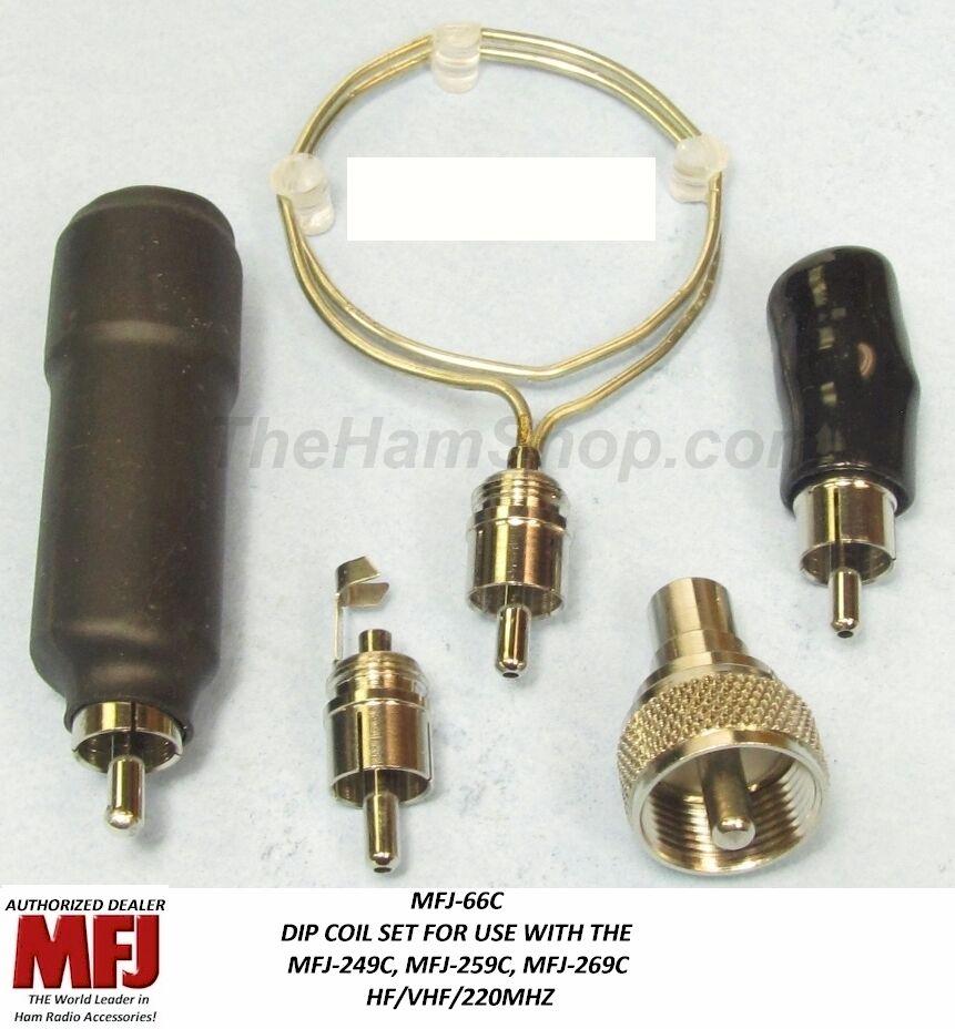 Mfj 66c Analyzer Dip Meter Coils For Mfj-249c, 259c, 269c...