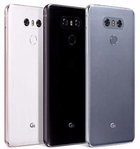 "LG G6 H870DS 64GB 5.7"" DUAL SIM Ice Platinum/Astro Black/Gold - Factory Unlocked"