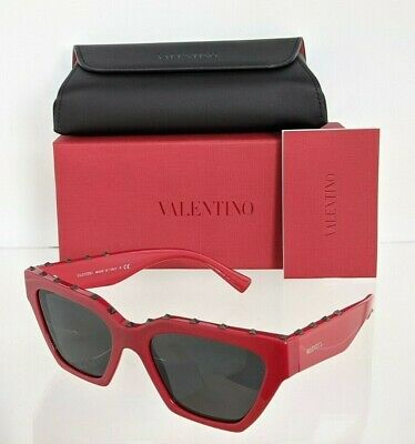 Brand New Authentic Valentino Sunglasses VA 4046 5110/87 Red 53mm Frame