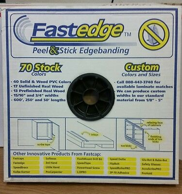 - Brand New Fastedge Peel & Stick Edgebanding 15/16