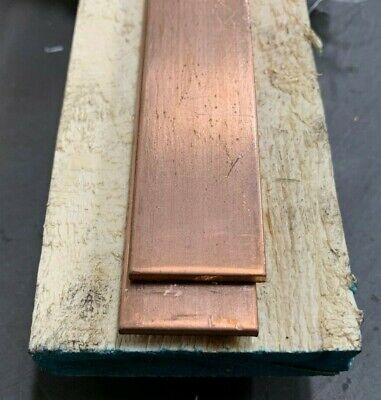 Copper Flat Bar Stock 316 X 1 X 6- Knife Making C110
