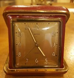 SEMCA Swiss Made Travel Alarm Clock