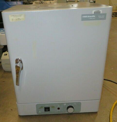 VWR Scientific 1500E Gravity Convection Holding Warming Incubator Lab Oven-Used