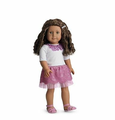 American Girl Sparkle Sequin Outfit Complete-Brand New In A Box