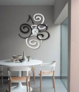 Orologio da parete filomena in ferro design italiano for Arte arredo roma
