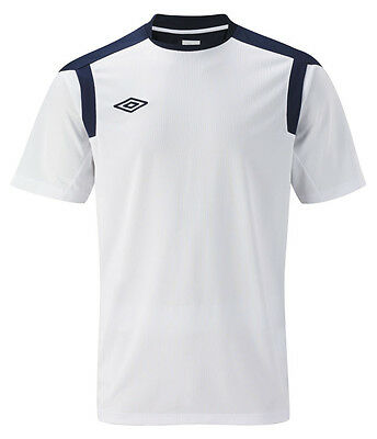 UMBRO POLY TRAINING Camiseta deportiva para hombre 146 PVP Tiendas 39ۼ