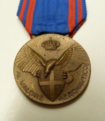 - VTG ITALIAN WW1 AERONAUTICAL VALOR MILITARY DECORATION MEDAL- BRONZE -#96