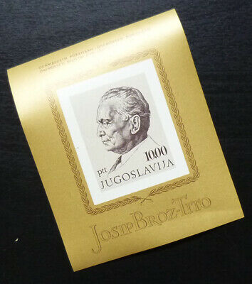 Yugoslavia Block MNH - Josip Broz Tito President A5