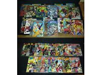 AVAILABLE IF LISTED. JOBLOT. 106 COMICS. New Sleeves. Runs. BADGER, DOC SAVAGE etc. PICS and LIST