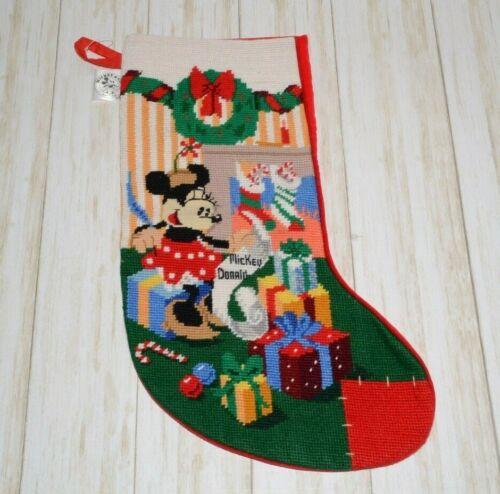 Disney Mickey & Co Minnie Mouse Christmas Stocking Vintage