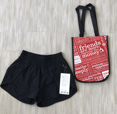 "Lululemon LR tracker shorts 4"" Size 4"