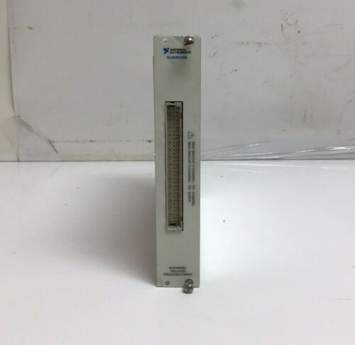 National Instruments SCXI-1126 8 Channel Isolated Frequency Input Card