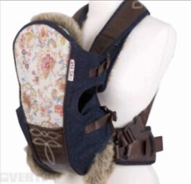 Beautiful rare baby carrier