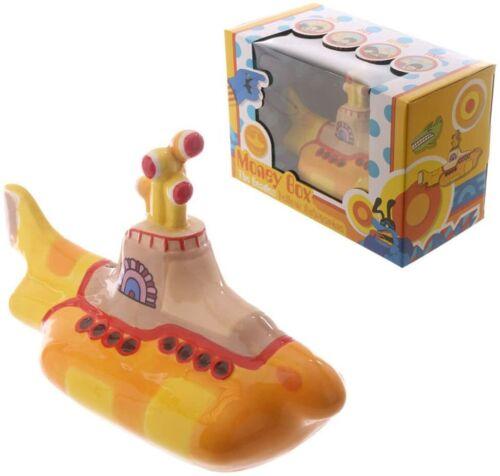 The Beatles Yellow Submarine Ceramic Money Box Bank By Puckator NEW IN BOX