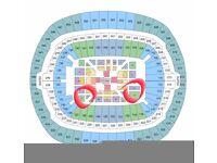 AJ vs Povetkin VIP Floor Seats x 6